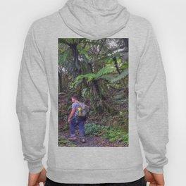 Jose hiking up El Yunque trails -  El Yunque rainforest in PR Hoody