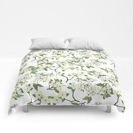 April blooms(Dogwoods) Comforters