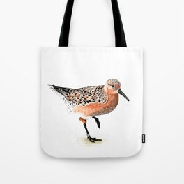 Red Knot B95 Tote Bag