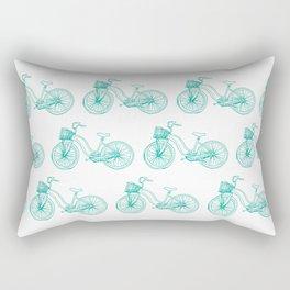 Two suspension mountain bike Rectangular Pillow