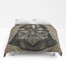 Darth Calavera Vader (DRAWLLOWEEN 30/31) Comforters