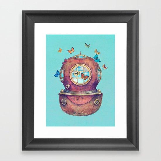 Inner Space - colour option Framed Art Print