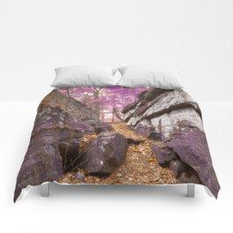Gettysburg Grotto - Lavender Fantasy Comforters