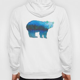 Evergreen Bear Hoody