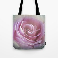 A Rose in the Heart of a Rose Tote Bag