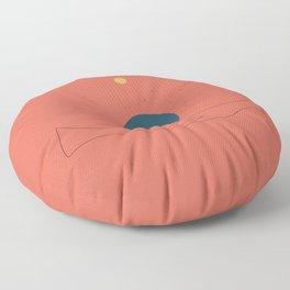 Dhyana mudra Floor Pillow