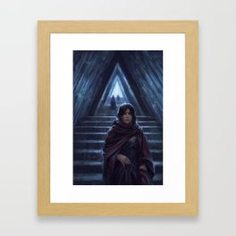 Triangle Hall Framed Art Print