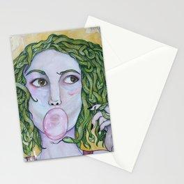 Like, totally Medusa Stationery Cards