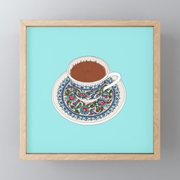Turkish Coffee Framed Mini Art Print