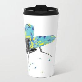 Geosafari   Fly (White) Metal Travel Mug