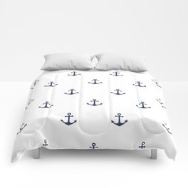 Anchor Pattern Comforters