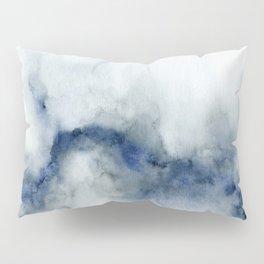 Indigo Abstract Painting | No.3 Pillow Sham