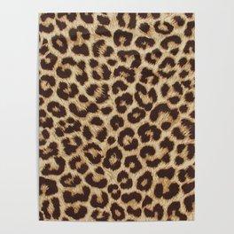 Leopard Print Poster