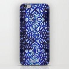 Ari's Blue iPhone & iPod Skin