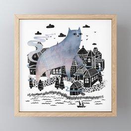 The Fog Framed Mini Art Print