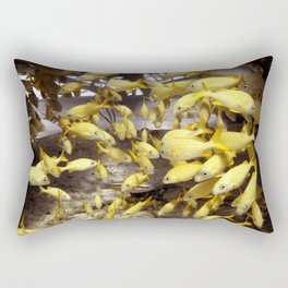French Grunts at Thunderdome,  North West Point Rectangular Pillow