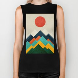 The hills are alive Biker Tank