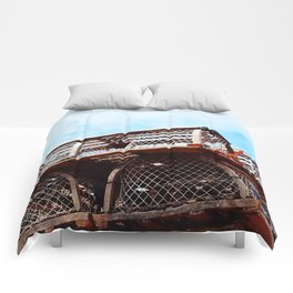 Lobster Trap Stack Comforters