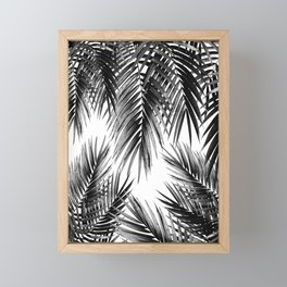 Palm Leaf Jungle Vibes #3 #tropical #decor #art #society6 Framed Mini Art Print