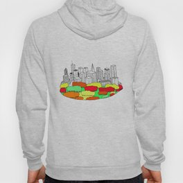 Skyscrapers in the trees Hoody