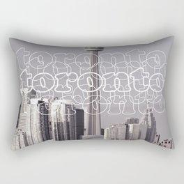 Toronto Life Rectangular Pillow