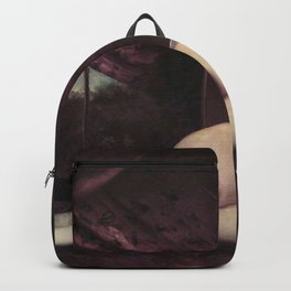 Gustave Courbet - Femme nue couchee Backpack
