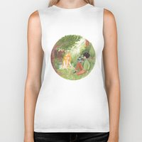 grantaire Biker Tanks featuring R & the Naiad by foxflowers