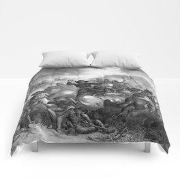 General Custer's Death Struggle Comforters