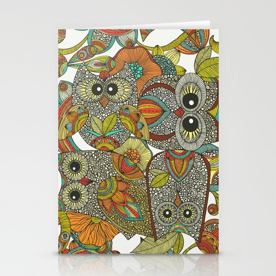 4 Owls Stationery Cards