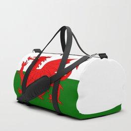 Welsh Dragon Flag Duffle Bag