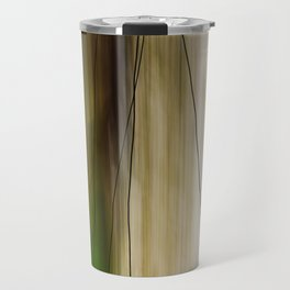 Forest, Water, Lines Travel Mug