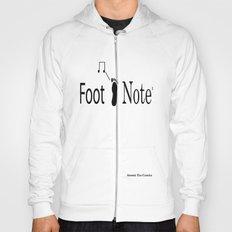 Foot Note Design #1 Hoody