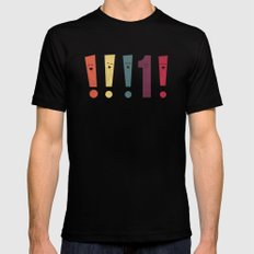 Out Of Place MEDIUM Black Mens Fitted Tee