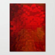 Extrusion Canvas Print