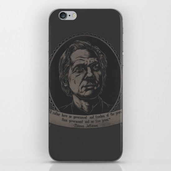 Transparency iPhone & iPod Skin