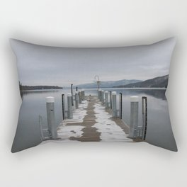 Lake George Dock Rectangular Pillow