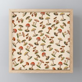Magical Mushrooms Framed Mini Art Print
