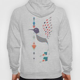 Vintage ethnic tribal aztec bird Hoody