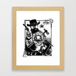 Django Kings Framed Art Print