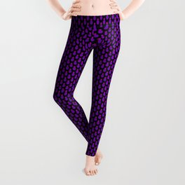 Purple Disco Pineapples Leggings