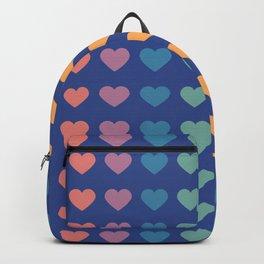 I Love You Patterns Backpack