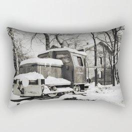 Old Train Rectangular Pillow