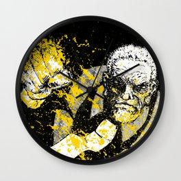 That Yellow Bastard Wall Clock