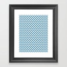 Bazzar 1 Ocean Framed Art Print