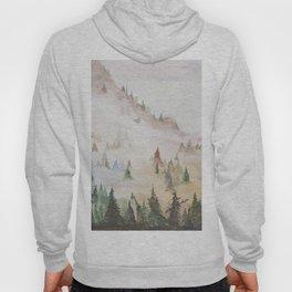 Forêt dans la brume Hoody