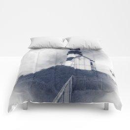Ilwaco Washington - Memories Of The Lighthouse Comforters