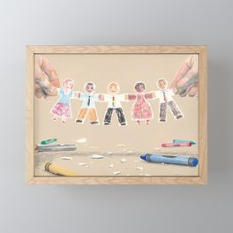 You Are My People Framed Mini Art Print