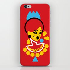 Goddess in Red iPhone & iPod Skin