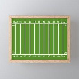 Football Field design Framed Mini Art Print