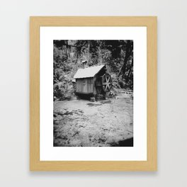 Water Wheel #2 Framed Art Print